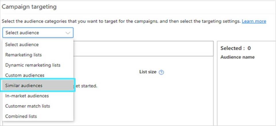 Campaign Targeting Microsoft Ads