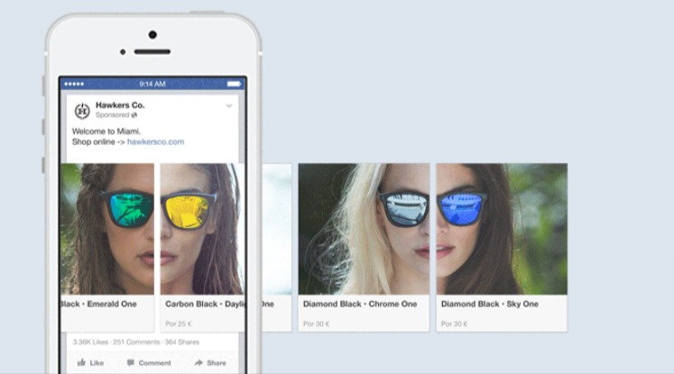 Create a carousel ad from your Page Facebook Business Help Centre