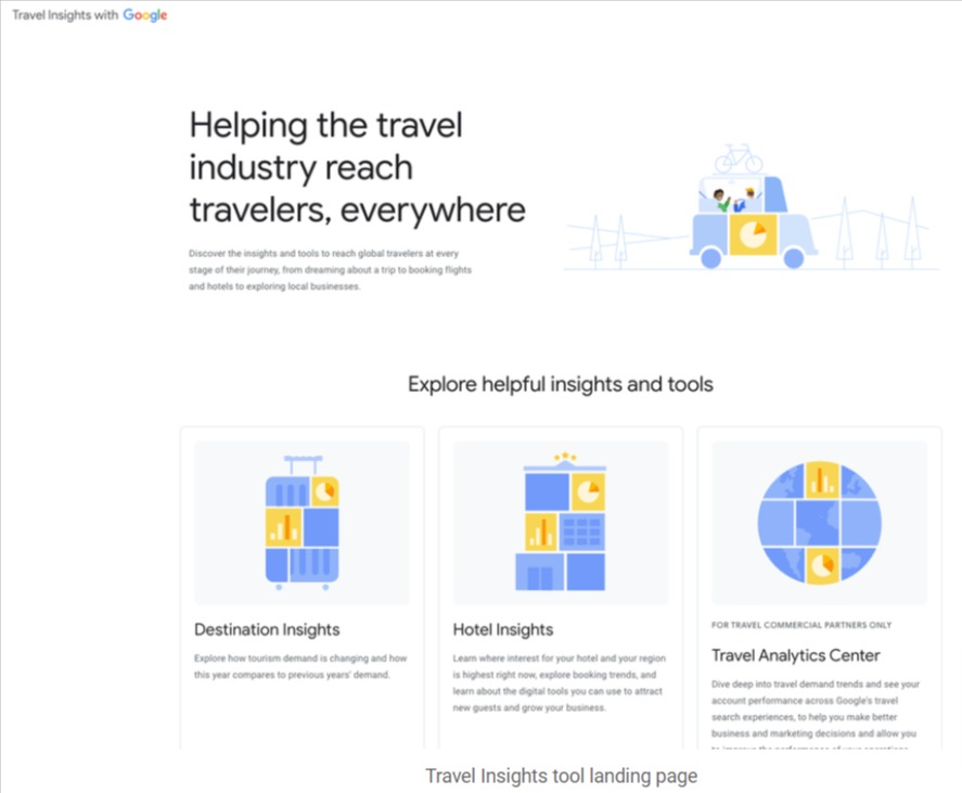 Google Travel Insights to Help Recovering Travel Industry 2021