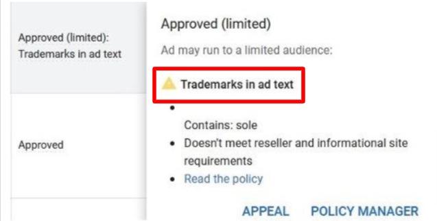 Trademark Authorization in Google Ads